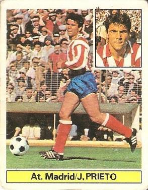 Liga 81-82. Julio Prieto (Atlético de Madrid). Ediciones Este.