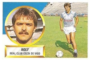 Liga 88-89. Noly (RC Celta de Vigo). Ediciones Este.