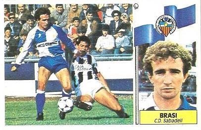 Liga 86-87. Brasi (Centro de Deportes Sabadell). Ediciones Este.