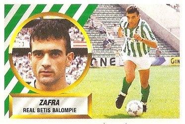 Liga 88-89. Zafra (Real Betis). Ediciones Este.
