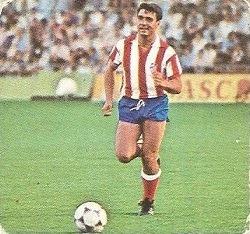Liga 82-83. Julio Prieto (At. Madrid). Ediciones Este.