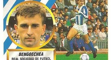 Liga 88-89. Bengoechea (Real Sociedad). Ediciones Este.
