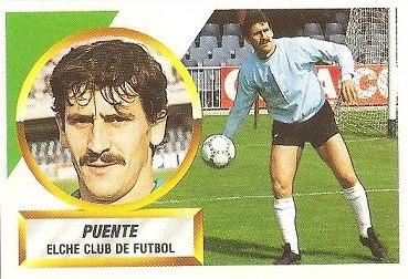 Liga 88-89. Puente (Elche C.F.). Ediciones Este.