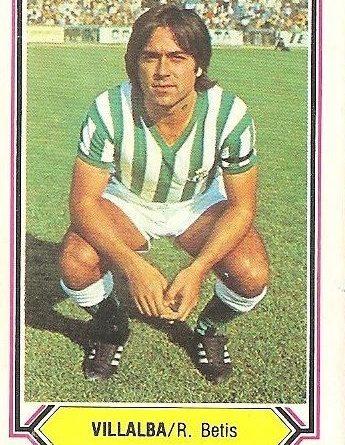 Liga 80-81. Villalba (Real Betis). Ediciones Este.