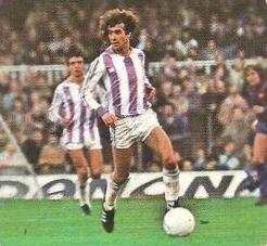 Liga 82-83. Pepín (Real Valladolid). Ediciones Este.