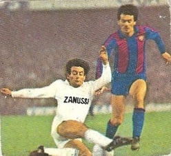 Liga 82-83. Gallego (Real Madrid). Ediciones Este.