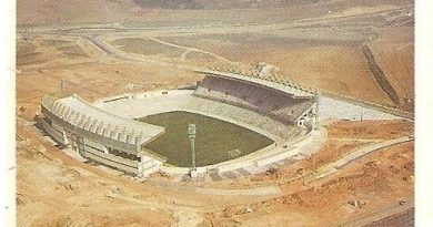 Trideporte 84. Estadio Nuevo José Zorrila (Real Valladolid). Editorial Fher.