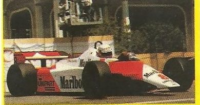 Grand Prix Ford 1982. Niki Lauda (McLaren). (Editorial Danone). -