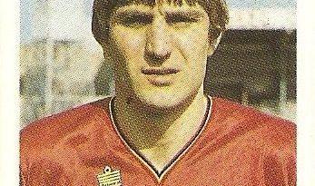 Eurocopa 1984. Ceulemans (Bélgica) Editorial Fans Colección.