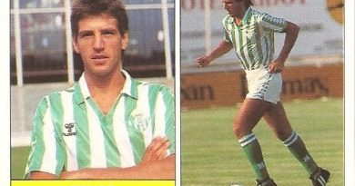 Liga 87-88. Chano (Real Betis). Ediciones Festival.
