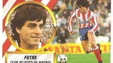 Liga 88-89. Futre (Atlético de Madrid). Ediciones Este.