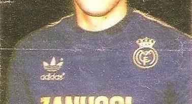 Liga Baloncesto 1985-1986. Biriukov (Real Madrid). Chicle Gumtar.