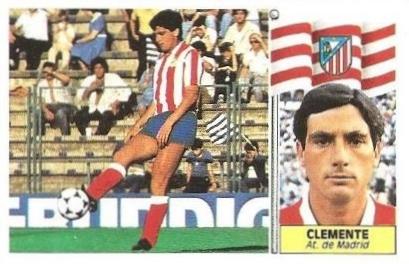 Liga 86-87. Clemente (Atlético de Madrid). Ediciones Este.