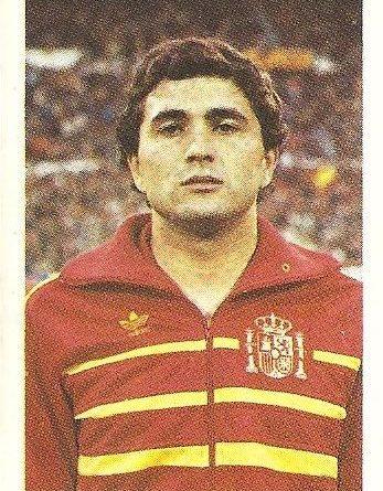 Eurocopa 1984. Gordillo (España) Editorial Fans Colección.