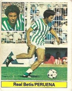 Liga 81-82. Peruena (Real Betis). Ediciones Este.