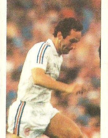 Eurocopa 1984. Sljivo (Yugoslavia) Editorial Fans Colección.