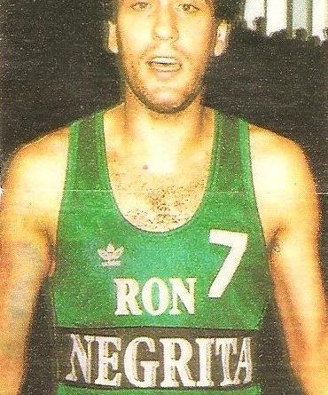Liga Baloncesto 1985-1986. Margall (Ron Negrita Juventud). Chicle Gumtar.