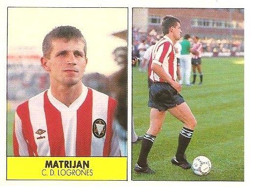Liga 87-88. Matrijan (C.D. Logroñés). Ediciones Festival.