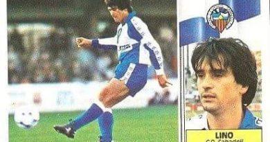 Liga 86-87. Lino (Centro de Deportes Sabadell). Ediciones Este.