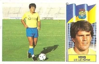 29. Liga 86-87. Yoyo (U.D. Las Palmas). Ediciones Este.