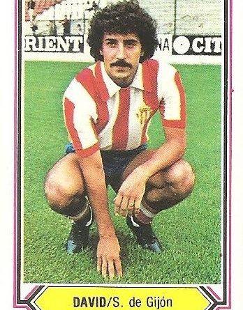 Liga 80-81. David (Real Sporting de Gijón). Ediciones Este.