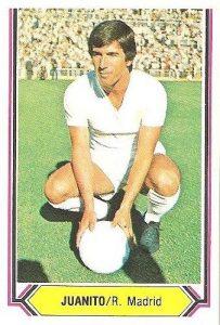 Liga 80-81. Juanito (Real Madrid). Ediciones Este.