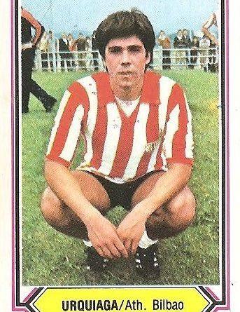 Liga 80-81. Urquiaga (Athletic de Bilbao). Ediciones Este.