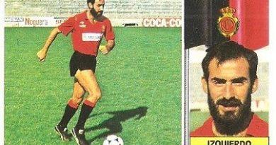 Liga 86-87. Izquierdo (R.C.D. Mallorca). Ediciones Este.