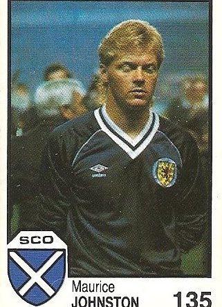 México 86. Johnston (Escocia) Cromos Barna.
