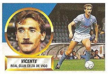 Liga 88-89. Vicente (Real Club Celta de Vigo). Ediciones Este.