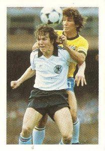 Eurocopa 1984. Matthaus (Alemania Federal) Editorial Fans Colección.