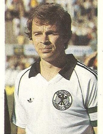 Eurocopa 1984. Dietz (Alemania Federal). Editorial Fans Colección.
