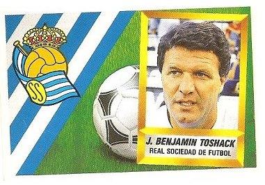 Liga 88-89. J. Benjamin Toshack (Real Sociedad). Ediciones Este.