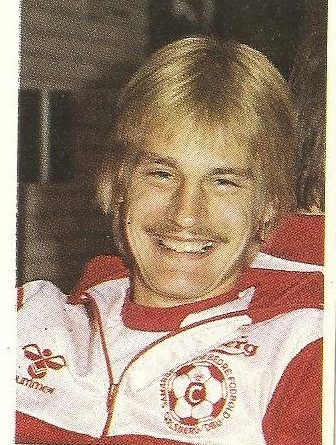 Eurocopa 1984. Lauridsen (Dinamarca). Editorial Fans Colección.