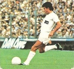 Liga 82-83. Juanito (Real Madrid). Ediciones Este.