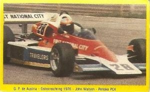 Grand Prix Ford 1982. John Watson (Penske). (Editorial Danone).