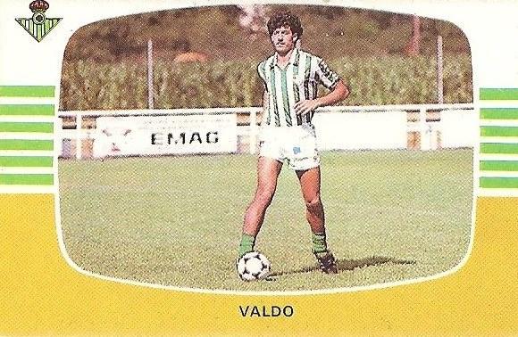 Liga 84-85. Fichaje Nº 32 B Valdo (Real Betis). Cromos Cano.