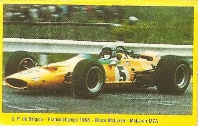 Grand Prix Ford 1982 . Bruce McLaren (McLaren). (Editorial Danone).