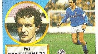 Liga 88-89. Vili (Real Oviedo). Ediciones Este.