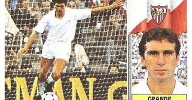 Liga 86-87. Grande (Sevilla C.F.). Ediciones Este.