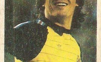 Eurocopa 1984. Svilar (Yugoslavia). Editorial Fans Colección.