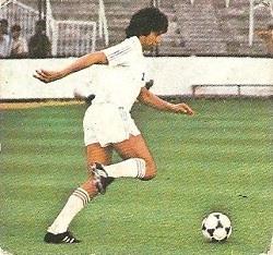 Liga 82-83. Acosta (Real Madrid). Ediciones Este.