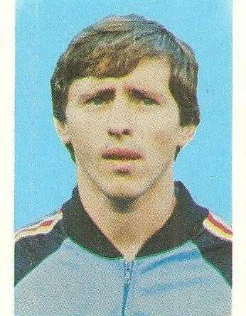 Eurocopa 1984. Petrovic (Yugoslavia). Editorial Fans Colección.