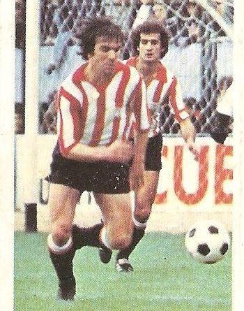 Liga 80-81. Dani (Athletic de Bilbao) Futbolistas en Acción Nº 19. Ediciones Este.