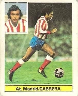 Liga 81-82. Cabrera (Atlético de Madrid). Ediciones Este.