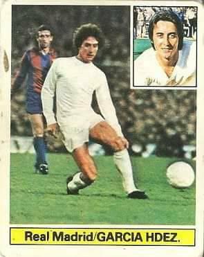 Liga 81-82. García Hernández (Real Madrid). Ediciones Este.