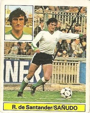 Liga 81-82. Sañudo (Racing de Santander). Ediciones Este.