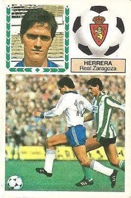 Liga 83-84. Herrera (Real Zaragoza). Ediciones Este.