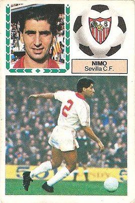 Liga 83-84. Nimo (Sevilla C.F.). Ediciones Este.