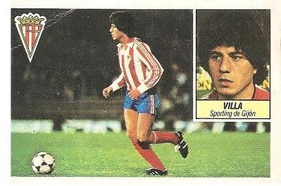 Liga 84-85. Villa (Sporting de Gijón). Ediciones Este.